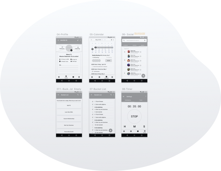 wireframes